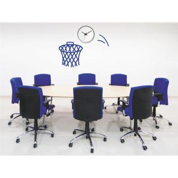 Vinilo decorativo Reloj Basket