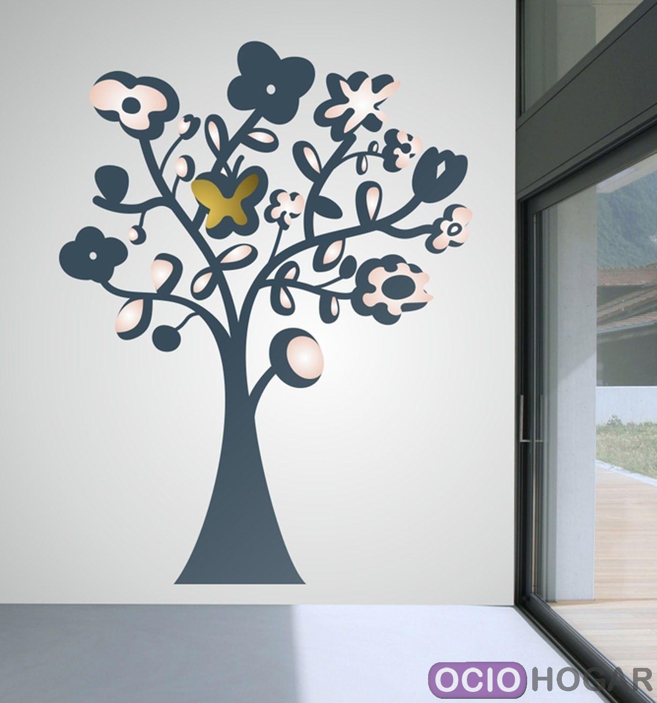 Comprar vinilo decorativo papillon de dekotipo online for Vinilo decorativo madera