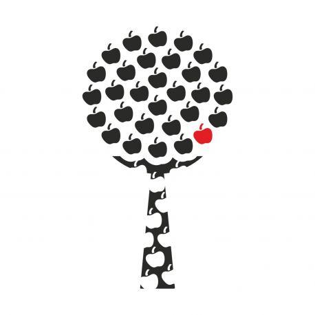 Vinilo decorativo Apple Tree de DEKOTIPO