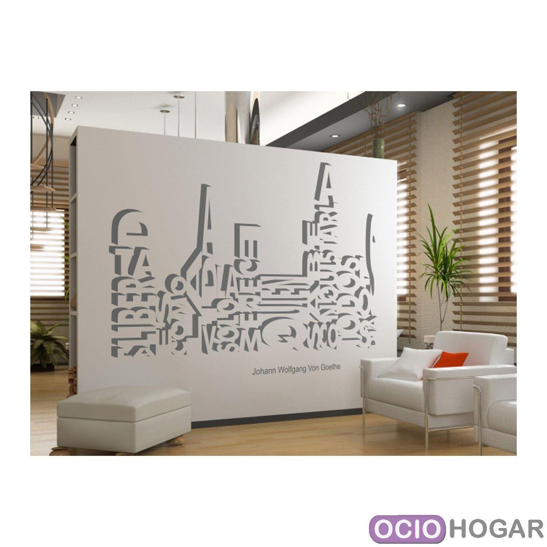 Comprar vinilo decorativo goethe de dekotipo online - Pegatinas de pared baratas ...