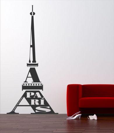 Vinilo decorativo Tour Eiffel de DEKOTIPO