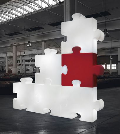 Lámpara Puzzle de Slide