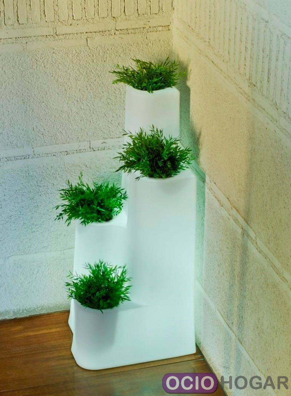 Maceta hiedra de new garden en - Macetas con luz baratas ...
