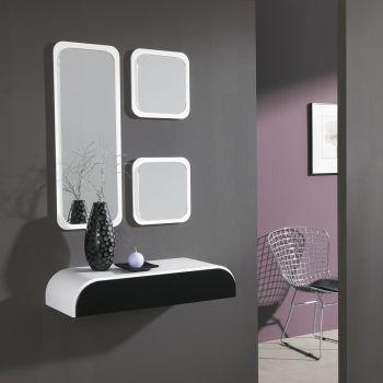 Conjunto de Consola y espejo Quad