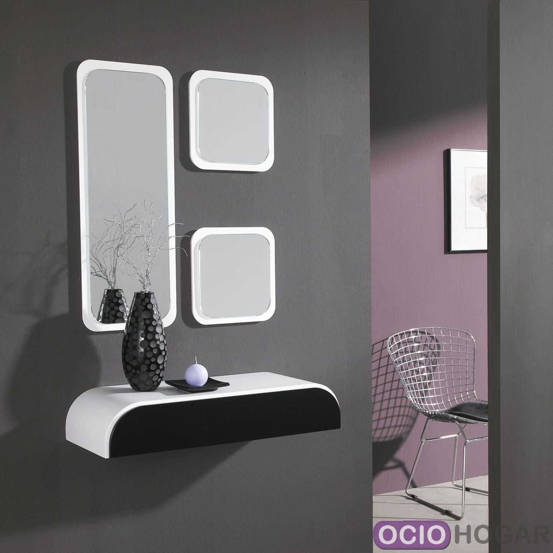 Conjunto De Consola Y Espejo De Quad