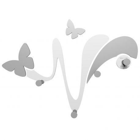 Perchero Butterfly White