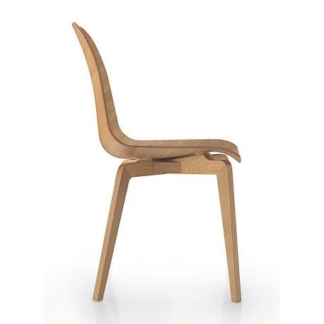 Silla Vela Wood, un mundo de madera