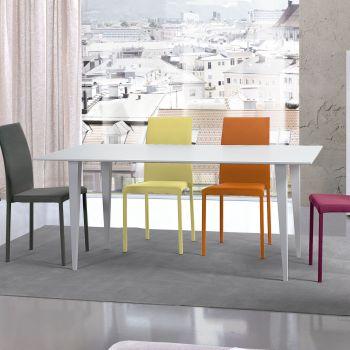Portofino, mesa de madera blanca que te enamorará