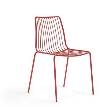 Nolita 3651, silla en acero de color para exterior