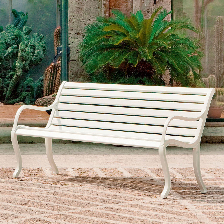 Oasi de fast bancos de aluminio para exterior for Sofa exterior aluminio blanco
