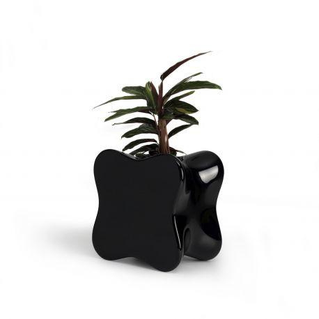 Maceta Doux de Vondom en color negro