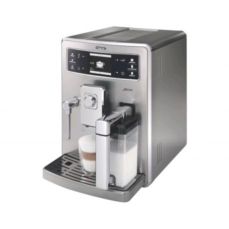 Cafetera Saeco espresso automática Xelsis Full Stainless Steel