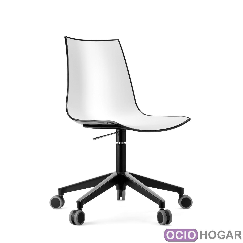 sillas modernas con ruedas para oficinas y despachos