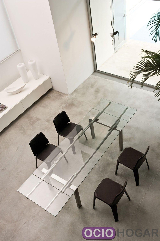 Casas cocinas mueble mesa extensible for Mesa consola extensible ikea