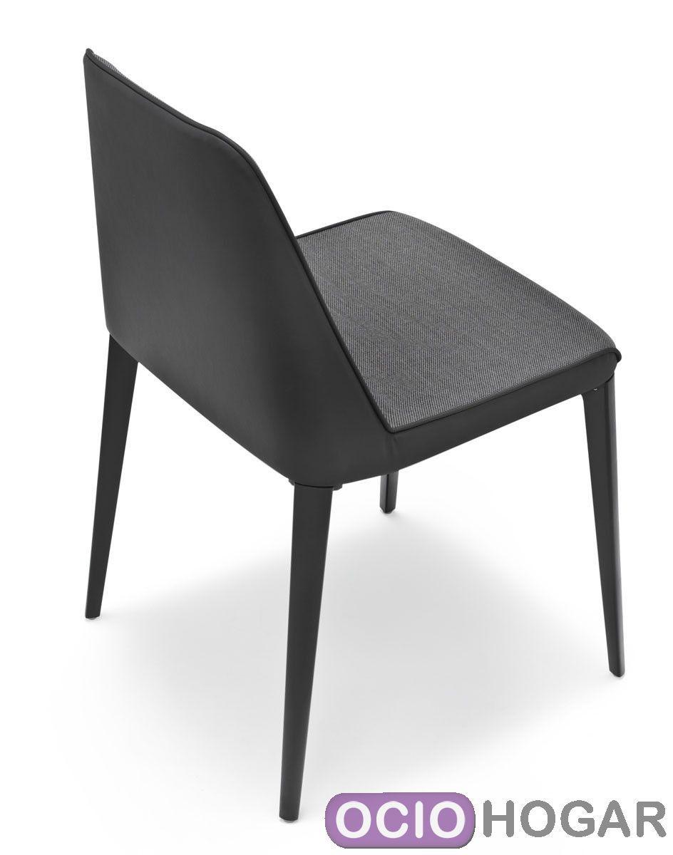 Silla tapizada laja 880 pedrali for Imitacion sillas diseno
