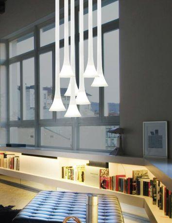 Lámpara de diseño Sissi de Vistosi