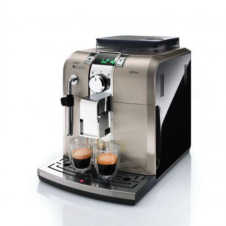 Cafetera Automática Saeco Syntia negro clásico