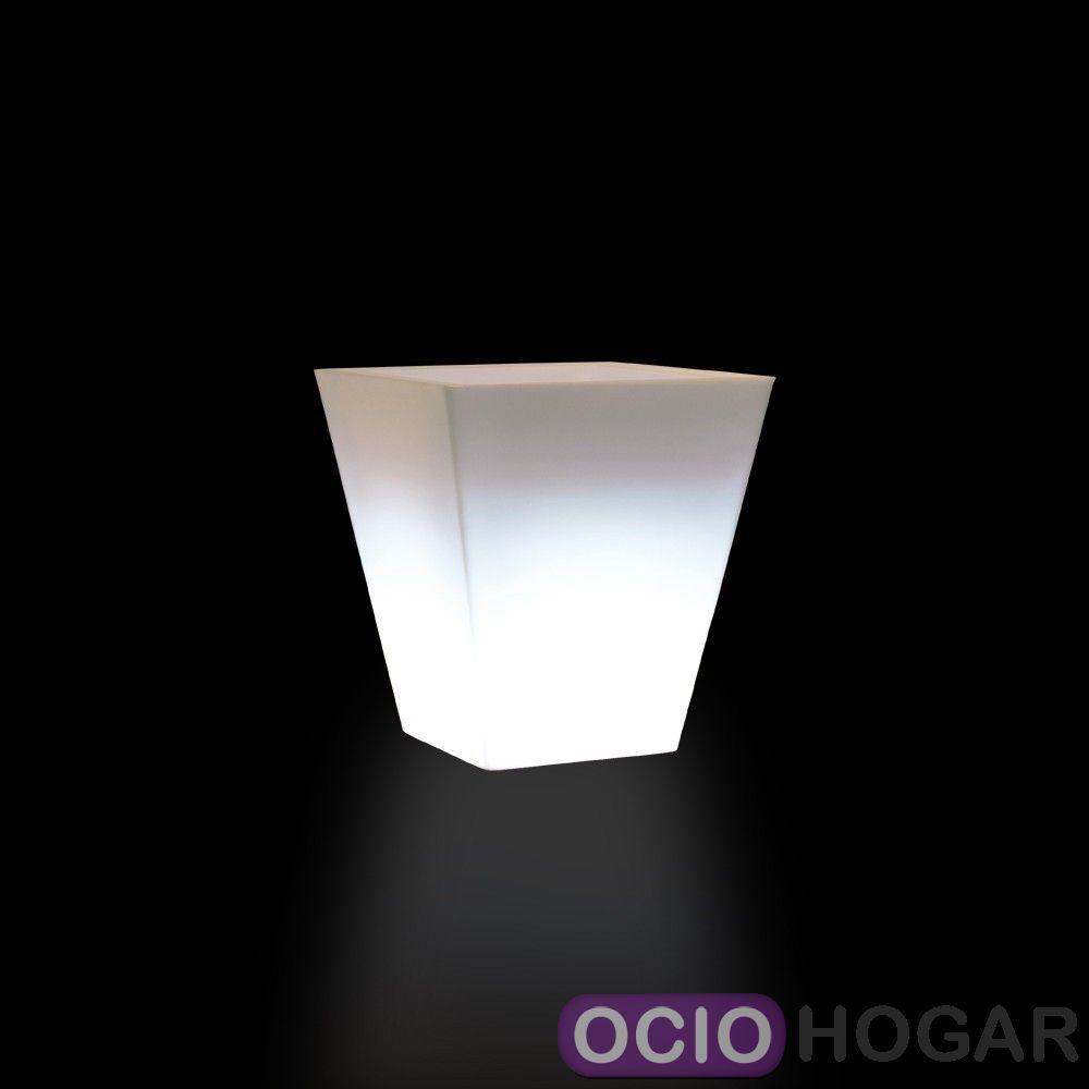 Comprar maceta iluminada cono cuadrado vondom - Macetas con luz baratas ...