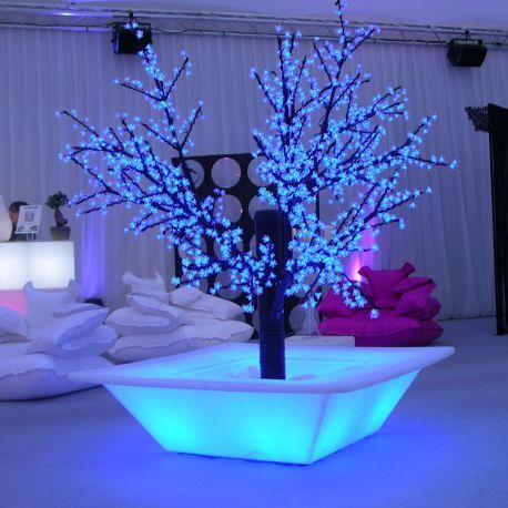 Macetero con luz Bench light SLIDE Design