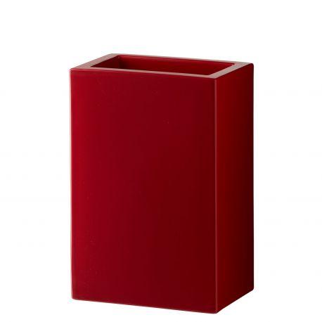Maceta Base Slide Design en rojo