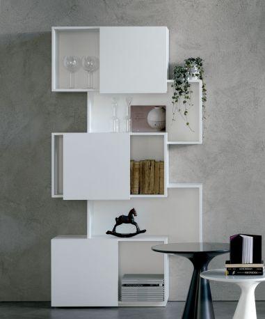 Librería de diseño Piquant Cattelan Italia