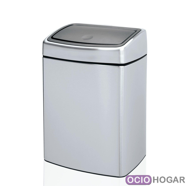 Cubo peque o para cocina touch bin 10l brabantia - Cubo basura cocina ...