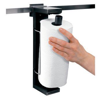 Portarrollos papel cocina bloqueo automático