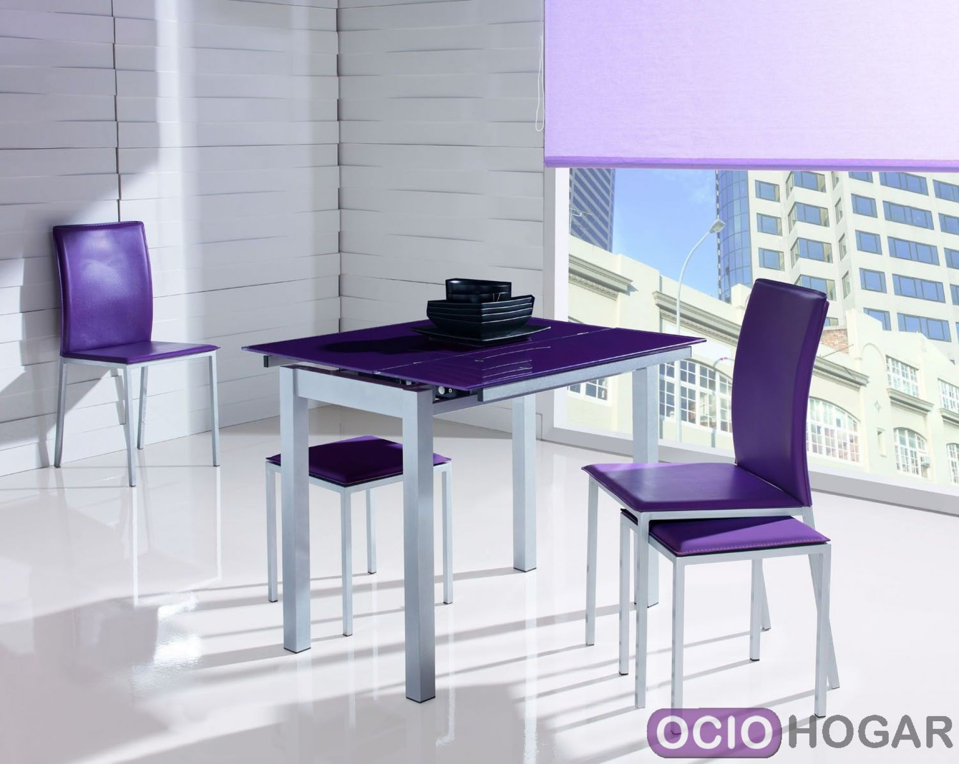 Mesas extensibles para la cocina de estilo moderno - Mesa cocina extensible ...