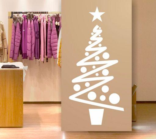 Vinilo rbol de navidad navitree 2 dekotipo compra - Decoracion navidena para negocios ...