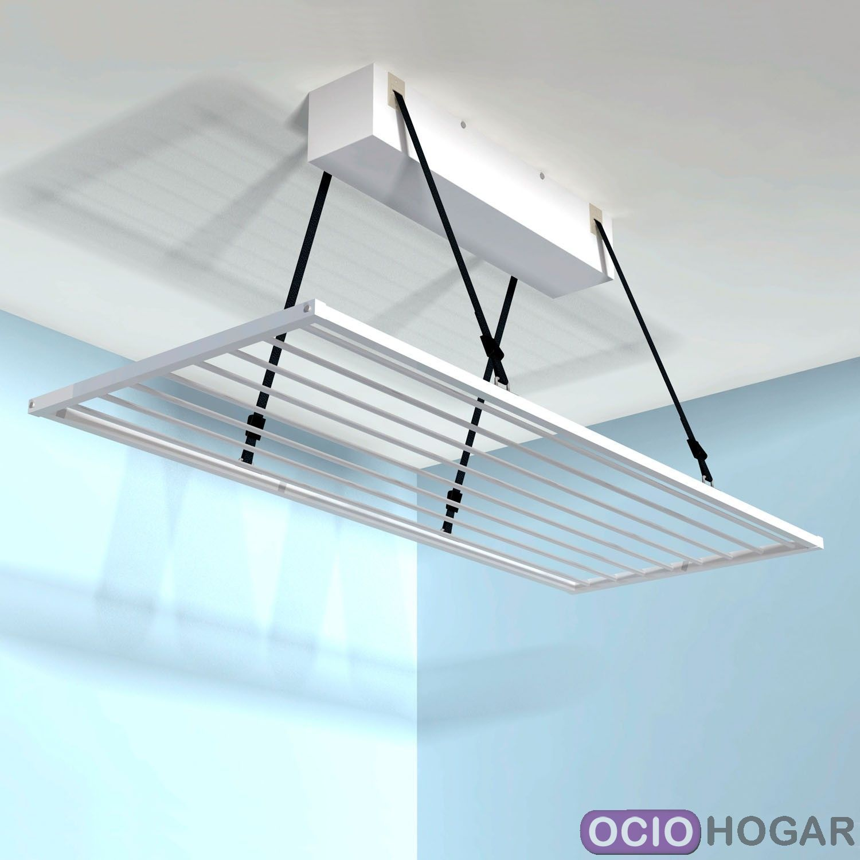 Tendedero de techo motorizado tendermatic for Alfombras modernas bogota