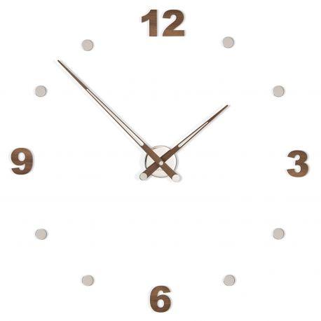 Reloj de pared de madera Axioma n Números Nomon