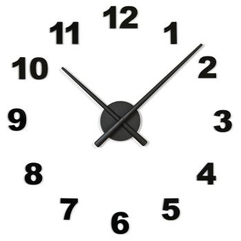 Reloj de pared OJ Números
