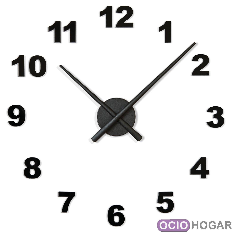 Reloj de pared oj n meros nomon compra online - Relojes de pared originales decoracion ...