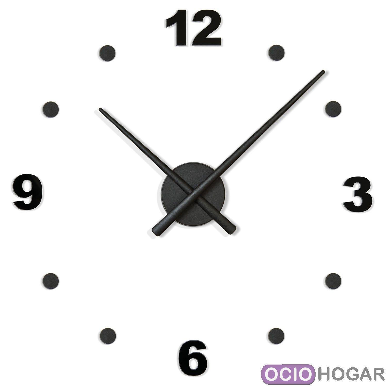 Reloj de pared oj n meros nomon compra online - Reloj para pared ...