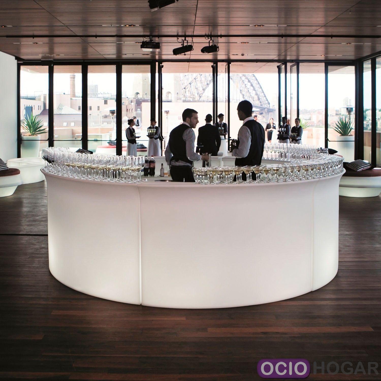 Barra de bar con luz break bar slide design - Barras de bares ...