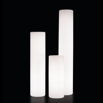 Lámpara cilindro exterior Fluo
