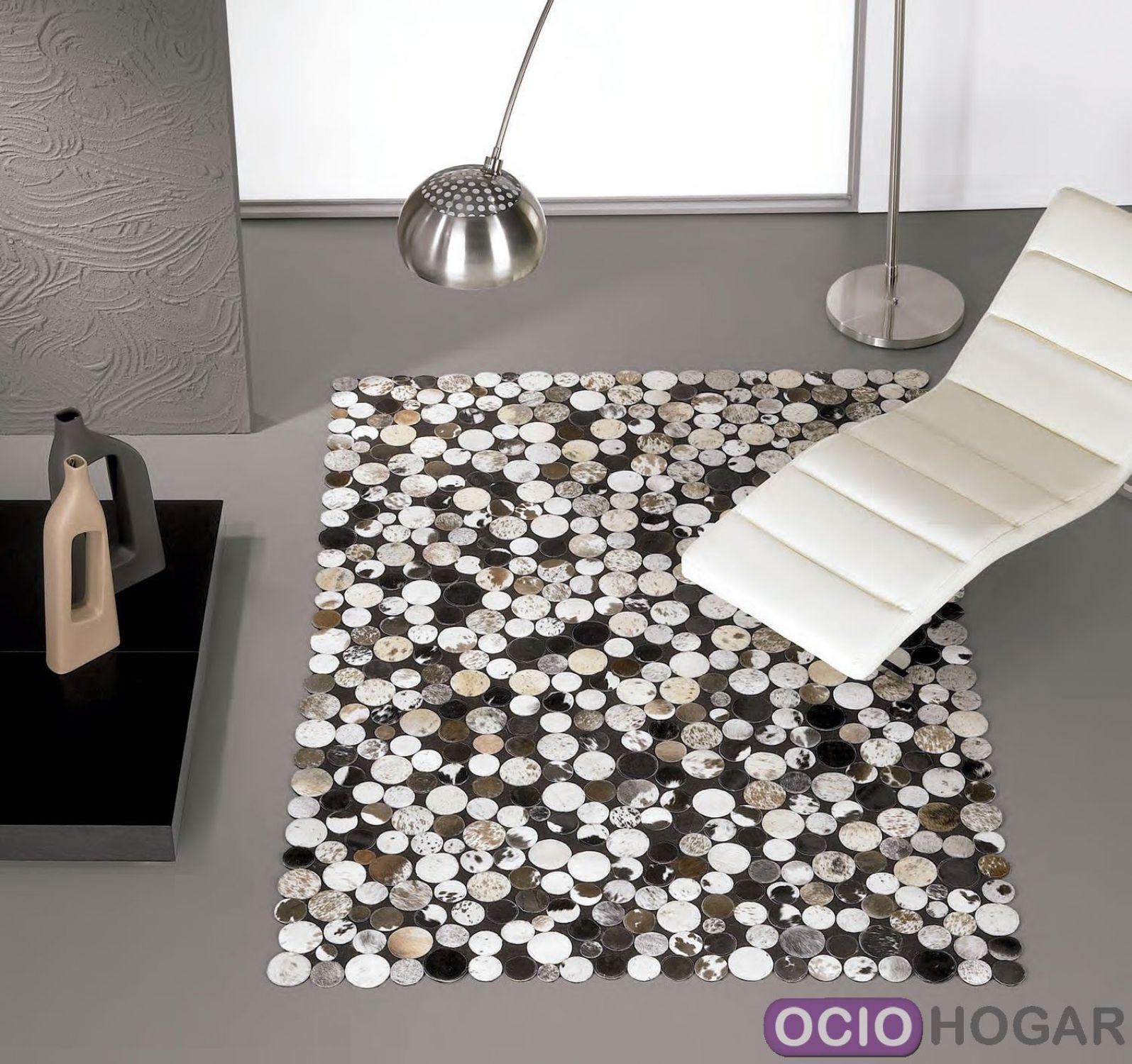 Alfombra moderna en piel jackson carving - Alfombras de pasillo modernas ...