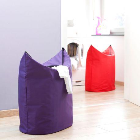 Bolsas Colada Brabantia en púrpura y rojo