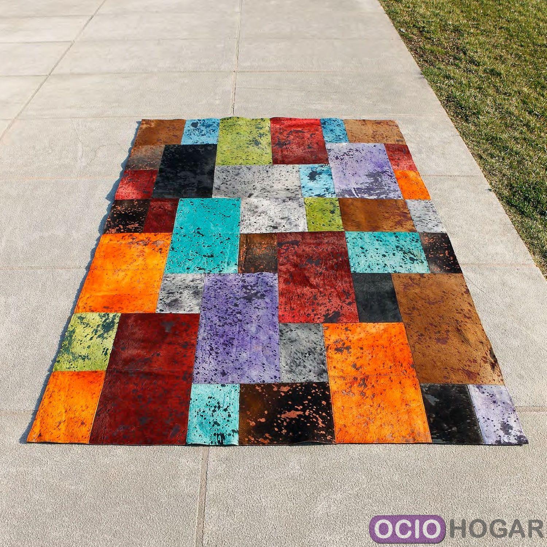 Alfombra de piel moderna otto carving - Carving alfombras ...
