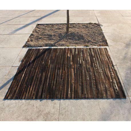 Alfombra moderna piel lines carving - Carving alfombras ...