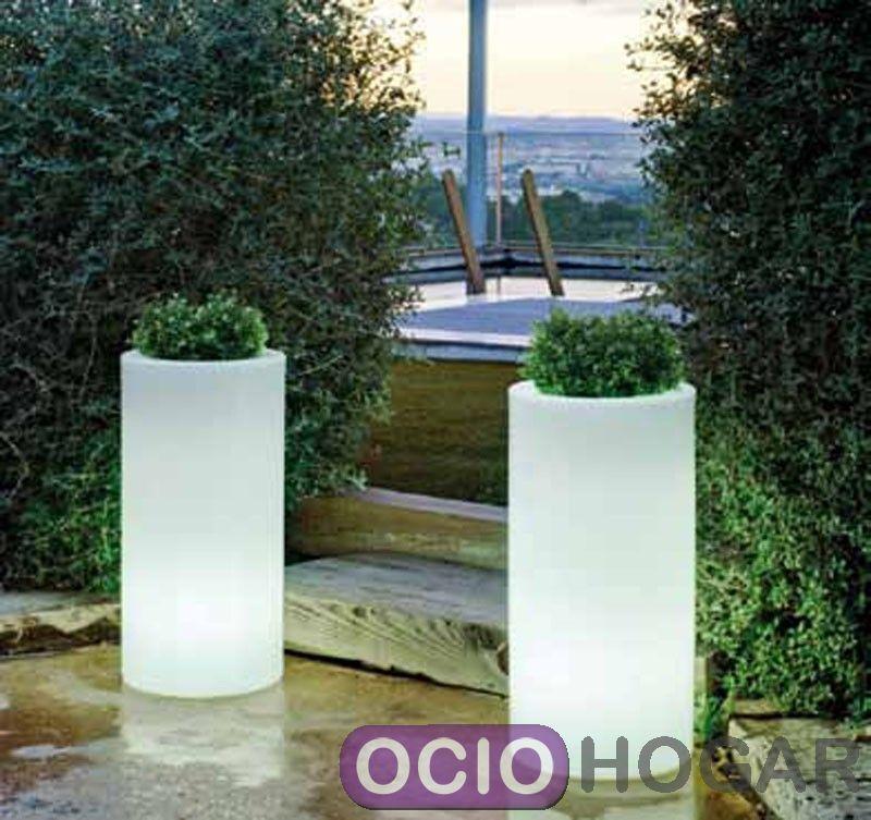 Maceta con luz palma light new garden - Macetas con luz ...