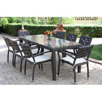 Mesa y sillas de jardín Dely