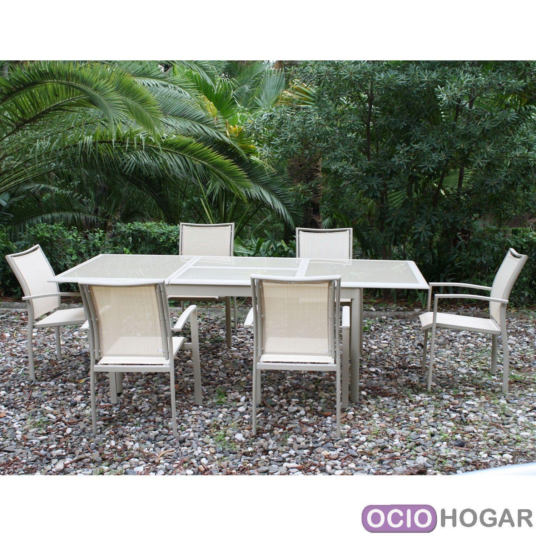 Mesa y sillas de jard n bucarest majestic garden for Sillones de jardin