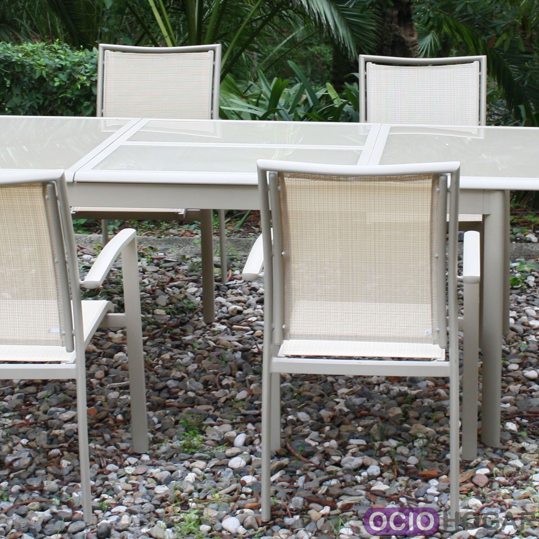 Mesa y sillas de jard n bucarest majestic garden - Mesa sillas jardin ...