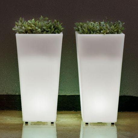 Maceta con luz Melisa Light New Garden