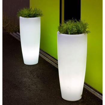 Maceta con luz Bambu Light