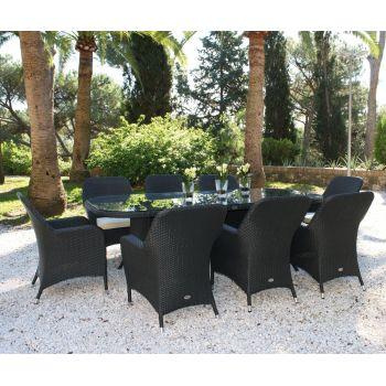 Mesa y sillas de jardín Ocean