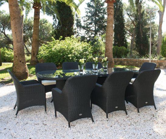 Mesa y sillas de jardín Ocean Majestic Garden
