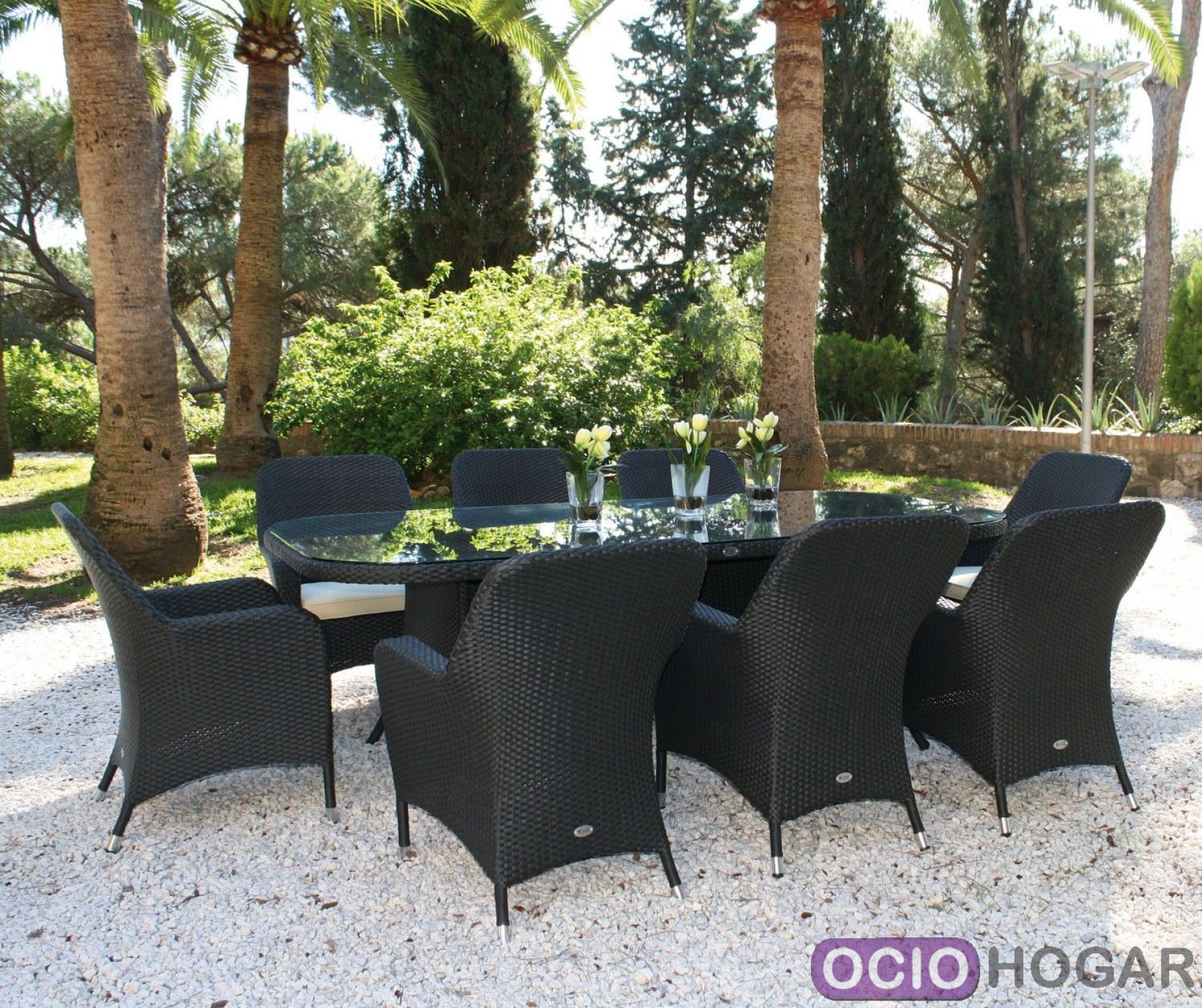 Mesa y sillas de jard n ocean majestic garden for Sillas jardin