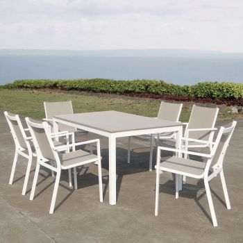 Mesa y sillas de exterior Rímini